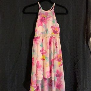 NWT Girls dress floral size 10